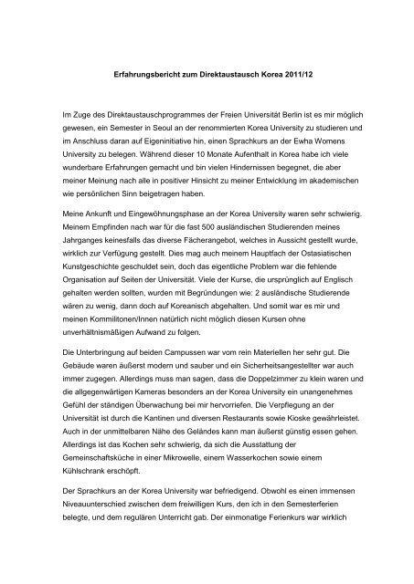 2011/12 - Freie Universität Berlin