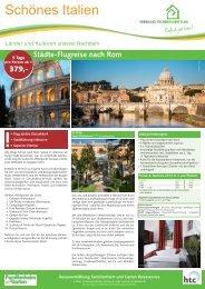 Reisen NRW Rom 2014 - Leserreisen