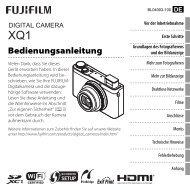 Bedienungsanleitung - Fujifilm