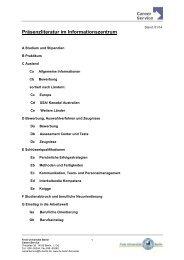 Gesamtliste aller vorhandenen Bücher im Informationszentrum