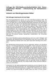 Behandelte Anfragen - in Fulda