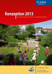Konzeption 2013 - in Fulda