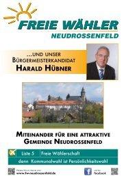 NEUDROSSENFELD - Freie Wähler Bayern