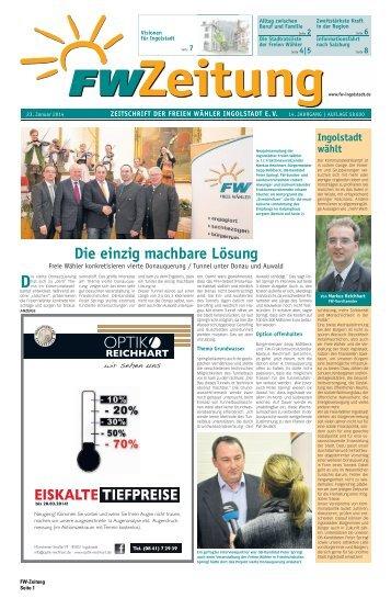 Die einzig machbare Lösung - Freie Wähler Bayern