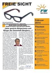 FREIE SICHT - Freie Wähler Bayern