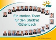Wahlbroschüre Freie Wähler 2014 - Freie Wähler Bayern