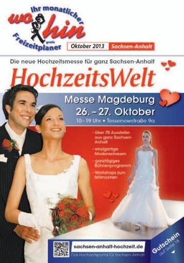 Oktober 2013 - wohin - Ihr Kulturmagazin für Sachsen-Anhalt