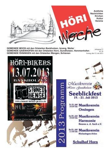 ab 19 Uhr - Gaienhofen
