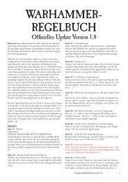 Warhammer- regelbuch - Games Workshop
