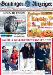Gautinger / Planegger Anzeiger vom 09.10.2013