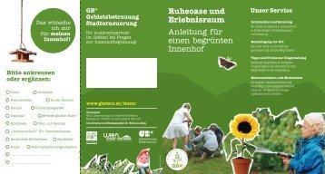 "Folder ""Innenhofbegrünung"" [pdf, 1 MB] - GB* Gebietsbetreuung ..."