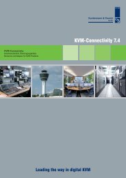 KVM-Connectivity 7.4 - Guntermann und Drunck GmbH