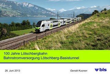 100 Jahre Lötschbergbahn - gdi