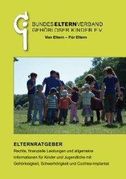ELTERNRATGEBER - Bundeselternverband gehörloser Kinder e.V.