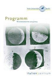 Programm WiSe 2013-14 (PDF) - Fachbereich Philosophie und ...