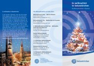 GE Weihnachtsmarkt Folder RZ:Layout 1 - Stadt Gelsenkirchen