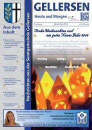 Mitteilungsblatt 12/2013 - Samtgemeinde Gellersen