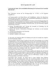 GR 24. September 2013 - § 103 Umsetzung der Studie - Gemeinde ...