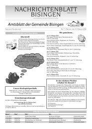 07 Umbruch_Leerumbr.qxd - Gemeinde Bisingen