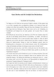 Kant, Barthes und die Festigkeit des Buchstabens - Freie Universität ...