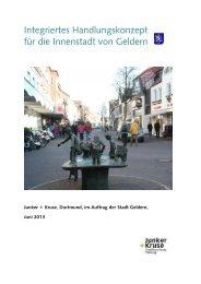 Integriertes Handlungskonzept für die Innenstadt ... - Stadt Geldern