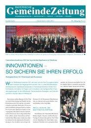 Unternehmerkonferenz 2013 des Sparkassenverbandes Bayern