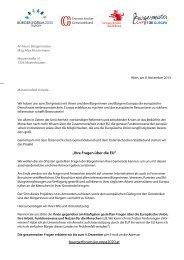 Brief an Bürgermeister, EU-Bürgermeisteraktion - Österreichischer ...