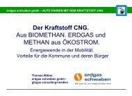BioErdgas im Verkehr