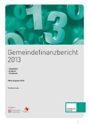 Gemeindefinanzbericht 2013 - Österreichischer Gemeindebund