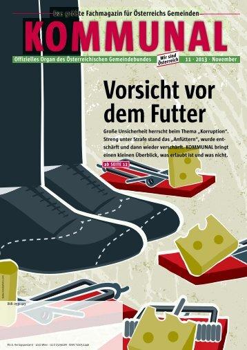 Vorsicht vor dem Futter - Österreichischer Gemeindebund