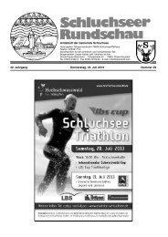 Rundschau Nr. 29.pdf - Gemeinde Schluchsee
