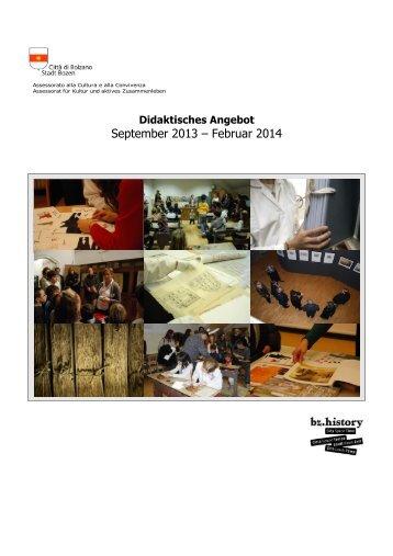 Didaktisches Angebot 2013_2014