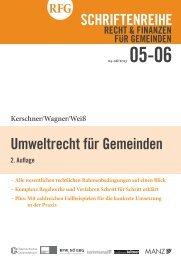 Umweltrecht für Gemeinden - Österreichischer Gemeindebund