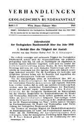 1948 - Geologische Bundesanstalt
