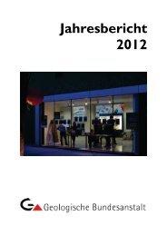 Jahresbericht zum download - Geologische Bundesanstalt