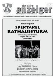 Ausgabe Nr. 10/13 (PDF|6,7 MB) - Gemeinde Gerbrunn