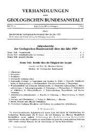 1959 - Geologische Bundesanstalt