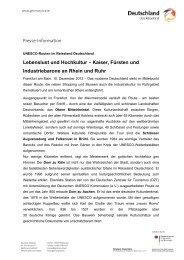 Lebenslust und Hochkultur – Kaiser, Fürsten und ... - Germany
