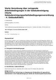 Vierte Verordnung über zwingende Arbeitsbedingungen in der ...