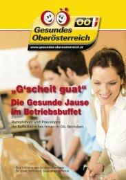 G´scheit guat - Die Gesunde Jause im Betriebsbuffet - Netzwerk ...