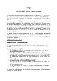 Erläuterungen zur AV Schulprogramm - GEW-Berlin