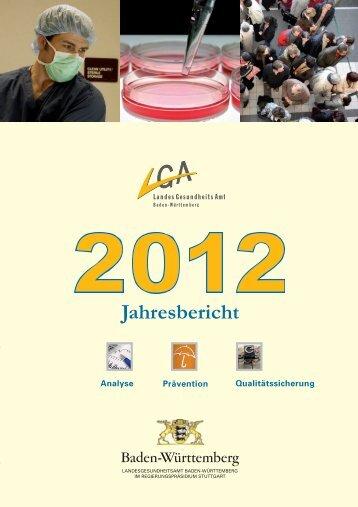 Jahresbericht - Öffentlicher Gesundheitsdienst