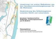 Umsetzung von ersten Maßnahmen aus dem ... - GfG