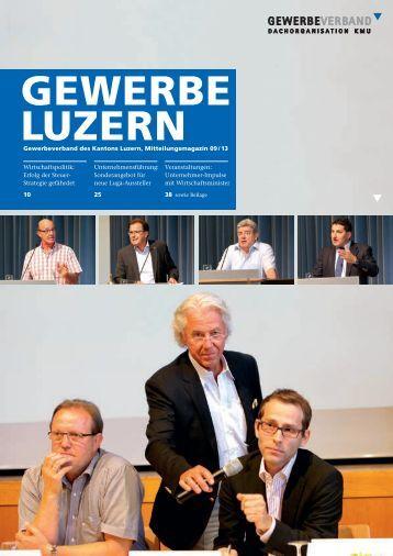 Veranstaltungen - Gewerbeverband des Kantons Luzern