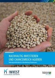 Nachhaltig iNvestiereN uNd chaNceNreich agiereN - Invest in ...