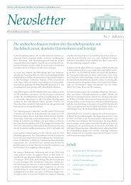 Ghorfa Newsletter 07/2013