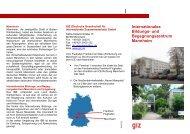 IBB-Broschüre (pdf, 1.99 MB, DE) - GIZ