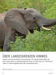 Über Landesgrenzen hinweg (aus: GIZ-Magazin akzente 4/2013)