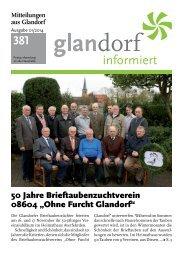 Mitteilungen aus Glandorf Nr. 381 - Januar 2014