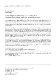 Pressemitteilung 17.12.2013 Wettbewerbsgewinn und Beauftragung ...
